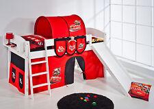 Juego de cama alta litera con Tobogán NUEVO 4105 lilokids Disney Coches