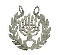 New Jewish Hanukkah Sterling Silver 925 Judaism Pendant Charm menorah Jewelry