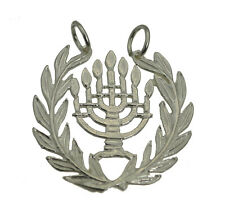 New Jewish Hanukkah Sterling Silver 925 Judaism Pendant Charm menorah Jewelry