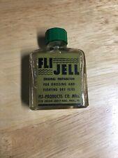 Vintage Fli Jell Fly Fishing Dry Flies