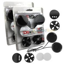 """4 DS18 TWPZ 1"""" Inch Mirco Dome Tweeters 4 Ohms 80 Watts Max Built In Crossover"""