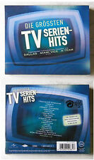 DIE GRÖSSTEN TV-SERIENHITS - Miami Vice, A-Team,... Brunswick CD OVP im Schuber