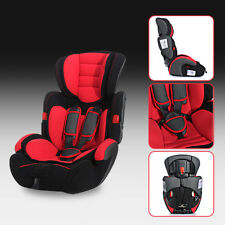 Red Convertible Baby Kid Children Car Seat & Booster Group1/2/3 9-36 KG SeriesA