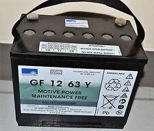 Batería de GEL Sonnenschein bloque de tracción Dryfit GF 12 63 y o 12V 70AH