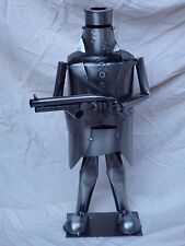 NED KELLY austrliana rifle metal constructed statue  42cm tall