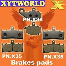 FRONT REAR Brake Pads KAWASAKI ZX-6R (ZX 600 G1 G2 J1 J2) 1998 1999 2000 2001