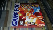 Pokemon Red Version (Nintendo Game Boy, 1998) Brand New Factory Sealed charizard