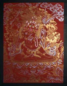 Four Arms Mahakala - Handmade Thangka Painting from Nepal