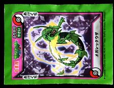 POKEMON Japanese Rice Seasoning Furikake COLLECTOR - RAYQUAZA - 16 (vert)
