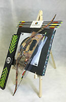 ASD 20Lbs Youth Camo Recurve Archery Bow Set With 8 Arrows, Target Boss & Stand