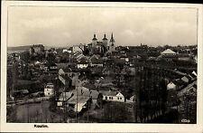 Kouřim Tschechien Česká Böhmen 1942 Kirche Stadt Häuser Panorama Gesamtansicht