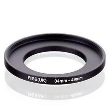 negro filtro 52 mm//óptica 49 mm latón Heliopan anillo adaptador
