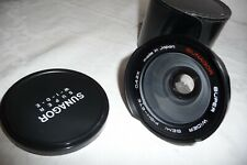 Wide angle lens SUNAGOR super wide semi FISH EYE 0.42x +caps&case 52mm fix  J10