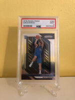 Panini Prizm #280 NBA Dallas Mavericks Luka Doncic Rookie Card RC PSA 9