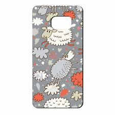 For Samsung Galaxy S7 Silicone Case Sheep Funny Pattern - S1502