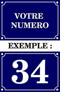 Autoadesivo Numero Strada Scatola Aux A Lettera Targa Personalizzabile