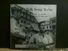"FOLK SONG TODAY  Songs & Ballads . . .  Various 10"" LP  Shirley Collins  RARE !!"