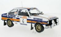IXO 18RMC037A or 18RMC037B FORD ESCORT rally car Rothmans Vatanen Mikkola 1:18th