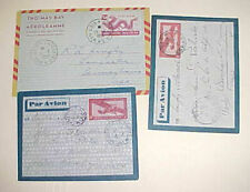 VIETNAM  AIR LETTER also INDOCHINA 2 DIFF.