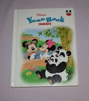 Book HC Disney World of Reading  - Yearbook 2001