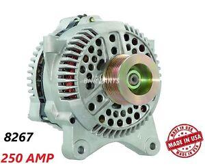 250 AMP 8267 Alternator Lincoln Navigator Blackwood High Output HD Performance