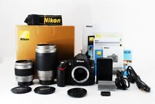Nikon D D90 12.3MP 28-80/70-300mm Double Zoom Set [Exc+++] w/Box From Japan[jkh]