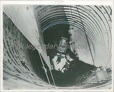 1960 Birdseye View of Missile Silo Construction Original News Service Photo