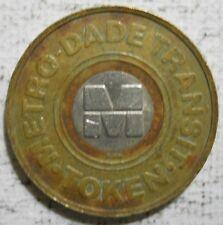 Metro Dade County (Miami, Floida) transit token - Fl530I