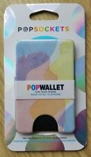 Popsockets PopWallet Smartphone Card Holder Push To Access Watercolor Wash