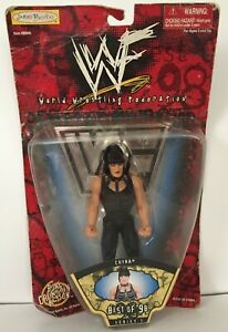 """Vintage WWF 1998 Jakks Pacific Chyna Doll 6"""" Action Figure New in Damaged Pack"""