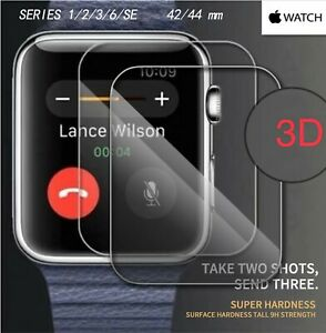Apple Watch Series 6 SE 5 4 3D tempered glass full screen protective film