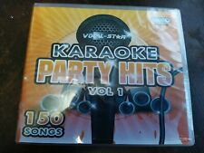 Vocal-Star Karaoke Party Hits Vol 1-150 Songs- New 8CD+G