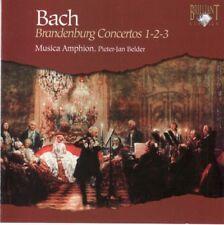 J.S. Bach - Brandenburg Concertos nos 1,2 & 3 - CD -