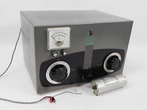 EF Johnson 250-30 KW Matchbox Ham Radio Antenna Coupler Tuner w/ Coupler (nice)