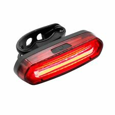 Rear Bike Light Front and Back Waterproof LED USB Rechargeable UK