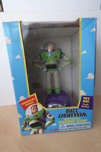 Disney Toy Story Buzz Lightyear Electronic Talking Bank – Thinkway Toys 1995