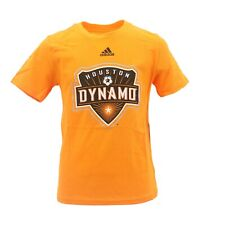 Houston Dynamo Official MLS Adidas Apparel Kids Youth Size T-Shirt New with Tags