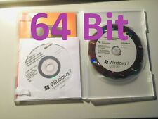 Microsoft Windows 7 ULTIMATE - 64 Bit - 2x DVD - Vollversion - Deutsch