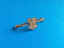 Ancienne Broche Epingle Blason Lorraine Epée Fleurs de Lis Couronne / French Pin