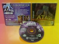 Atari Anniversary Edition Sega Dreamcast Rare Game Complete Tested Dream Cast