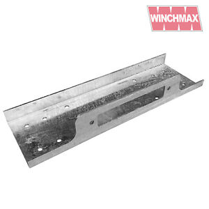 Winch Mounting plate for 13,000lb + 13,500lb Winches - Galvanized Compact