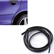 2M Black Moulding Trim Strip Car Door Scratch Protector Edge Guard Rubber Strip