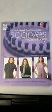 Learn How To Knit Fashionable Scarves On Circle Looms  12 Projects