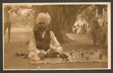 India vintage postcard A HAKIM – NATIVE DOCTOR