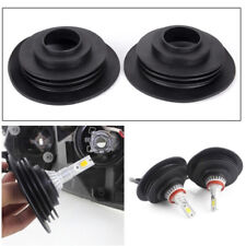 Soft Rubber Dust Cover For Car Auto Headlight Universal LED Light Seal Cap GA