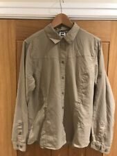 THE NORTH FACE WOMENS LONG SLEEVE SEQUOIA HIKING  SHIRT DUNE BEIGE BRAND NEW  L