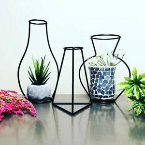 Nordic Iron Vase Set of 3