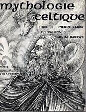 MYTHOLOGIE CELTIQUE LE PANTHEON GAULOIS   NUMERO SPECIAL DE L HESPERIDE   1974