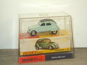 Citroen 2CV - Dinky Toys DY032/b - 1:43 in Box *52756