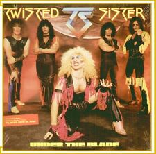 "TWISTED SISTER "" UNDER THE BLADE "" LP SIGILLATO  (FIRST LP REMIX EDITION) RARO"